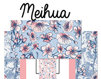 Meihua fabric collection