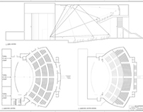 Projeto auditório - AutoCAD