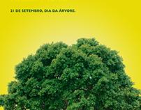 País do Futebol - Dia da Árvore - Greenpeace