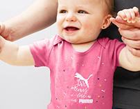 PUMA baby bodysuit
