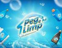 Peg e Limp - Identidade Visual