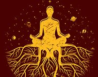 I Am Who I Am Clothing - Camisetas Coleção Yoga