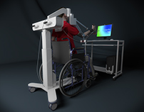 Rehabilitation equipment modeling project