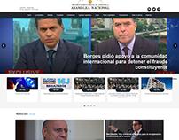 Web de la Asamblea de Venezuela