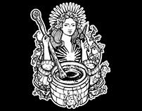 Alina Craft Beer Illustration