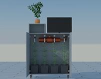 Mueble de cultivo interior