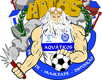 Logotipo 11 anos - Torcida Aquáticos