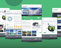 Web Energía verde