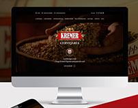 Kremer Cervejaria - Web Design