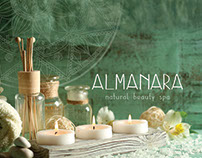 Almanara: brochure, menu