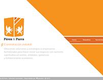 Pérez & Parra. Branding