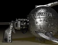 Concept Art  ::Diseño de arma::