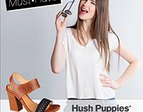 Diseño de contenido para redes marca Hush Puppies