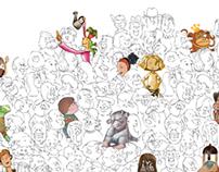 Ilustracion y Material POP - Juntos Formamos Lectores