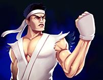 Fanart Ryu [SPEEDPAINTING] - 365DM2018 - #010/365