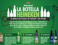 Infografias Heineken 2012 - 2013 Facebook posts.