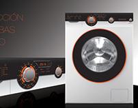 Interface de lavarropas