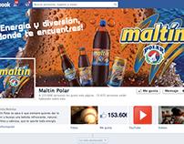 Timeline Facebook Maltín Polar
