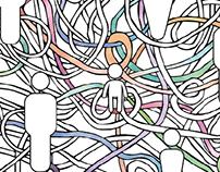 Projeto gráfico curso Saúde Mental - UNIFESP