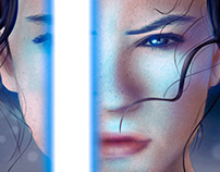 Rey - The Force has awakened.
