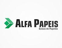 BRANDING - ALFA PAPÉIS