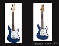 Ilustración Guitarra