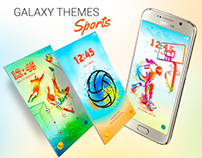 Galaxy Themes Sports for Samsung Galaxy