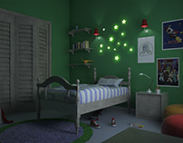 Modeling and rendering of room for the - Hope project