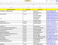 e-mail marketing base de datos-empresas org. de eventos