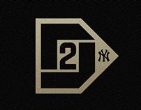 Derek Jeter. Logo & Poster Design