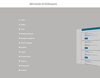 Sistema CMS personalizado para FGA Banqueros de Inversi