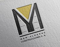 Branding Work for M&M Albaras Construcciones C.A.
