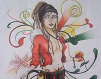 Ilustraciones en Lápiz de color