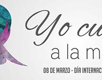 Campaña por el día internacional de la mujer
