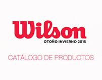 Catálogo Wilson Otoño Invierno 2015