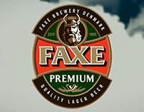 Animação 3D Comercial Cerveja Faxe (Projeto Acadêmico)