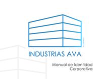 Manual de identidad corporativa INDUSTRIAS AVA / Logo