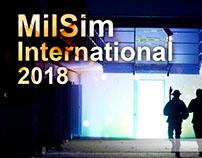 Arte para sitio web y portada de facebook-Milsim - EEUU