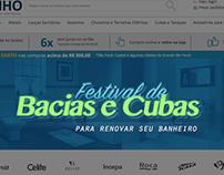 Campanha On-Line - Loja Virtual All Banho