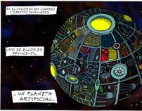 Cartoneros del espacio