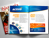 Publi-reportaje para Banco Activo