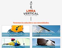 """Diseño Mailing """"Servicios"""" para Línea Vertical"""