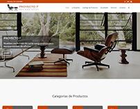 Proyecto F www.proyecto-f.com Wordpress, Woocommerce