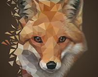 Polyart - Fox