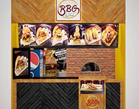 Visualización restaurante
