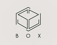 box logo concept.