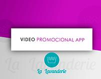 Video promocional App La Lavanderie