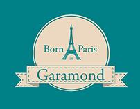 Poster Garamond - Cartaz Garamond