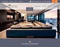 Diseño de pantalla para web - Marmol Blejman