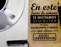 Post Bistro del Libertador (Instagram)